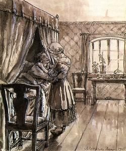 Гринёв и Маша