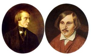 зам 3 Белинский и Гоголь