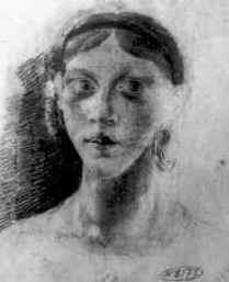 Зам 3 Рисунок Гоголя 1820-х годов