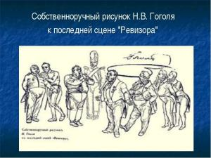 зам 3 Рисунок Гоголя