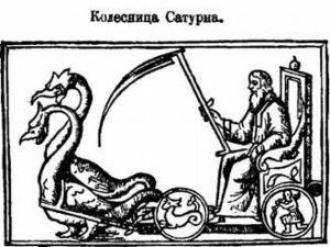 хёй, колесница Сатурна