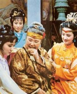 Сон в кр Фото сцены первого телесериала Сон в красном тереме