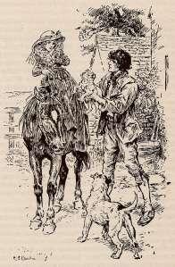 Гроз Иллюстрации к «Грозовому перевалу» художника Charles Edmund Brock (1870-1938)