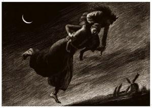обитель, место Хома Брут несёт ведьму
