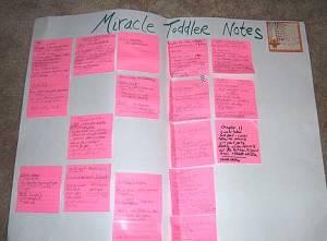 Писать роман с помощью карточек