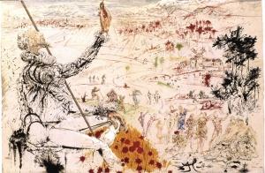 Сальвадор Дали. Дон Кихот. Золотой век